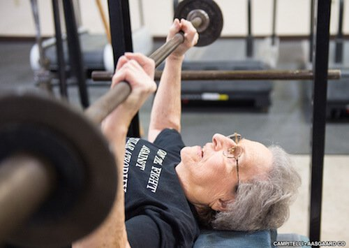 92 year old strong woman