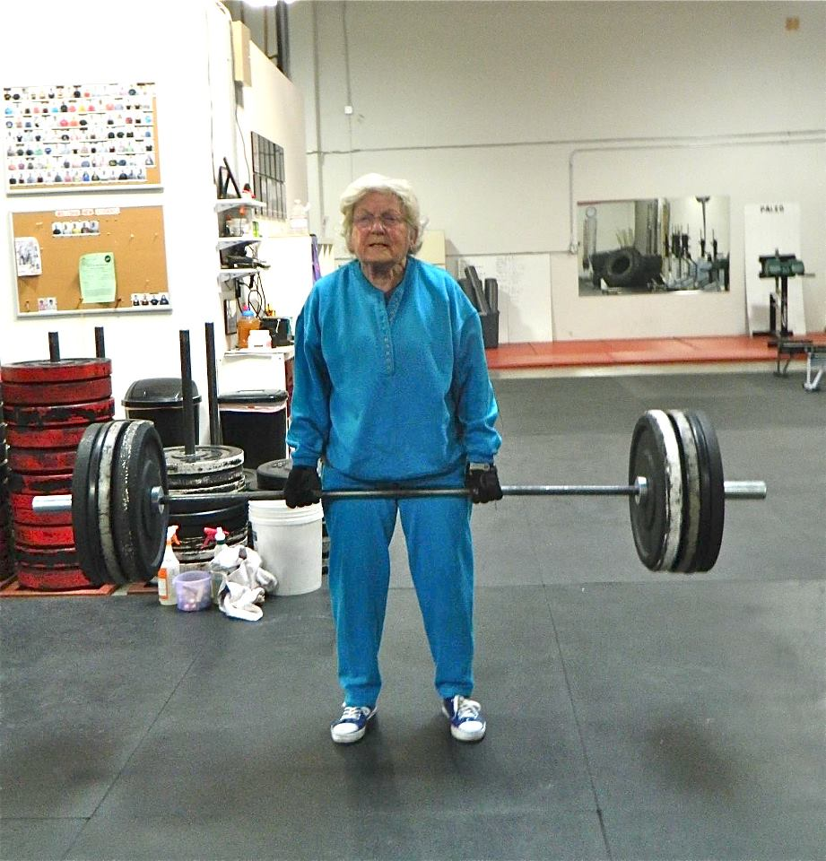 82 year old strong woman